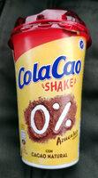 ColaCao Shake 0% azúcares - Produit - es