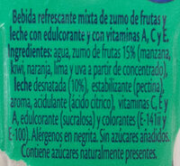 Bifrutas Pacífico Zero - Ingredients