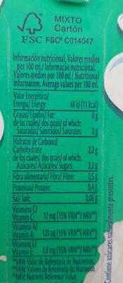 Bifrutas Pacífico Zero - Informations nutritionnelles - es