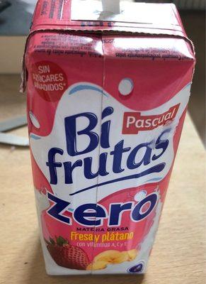 Bi frutas fresa y platano - Produit