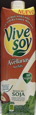 Bebida de soja sabor avellanas - Product