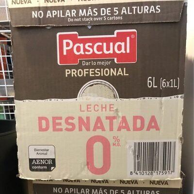 Leche pascual 0% - Produit - es