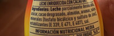 ColaCao Energy - Ingredients - es