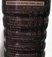 Okey Choco Ride - Información nutricional