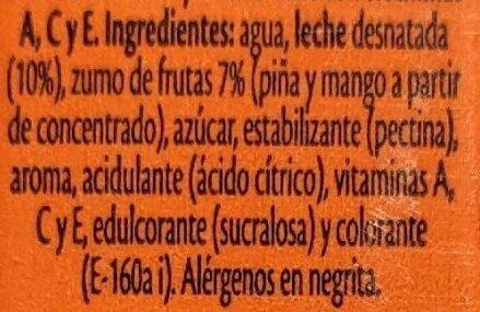 Bifrutas Tropical P / 3x33CC - Ingrediënten