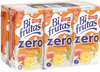 Zero tropical zumo de fruta con leche y vitaminas - Produit - fr