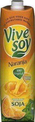 Bebida De Zumo De Naranja Y Soja Con Azúcar De Caña Y Vitamina C - Producte - es