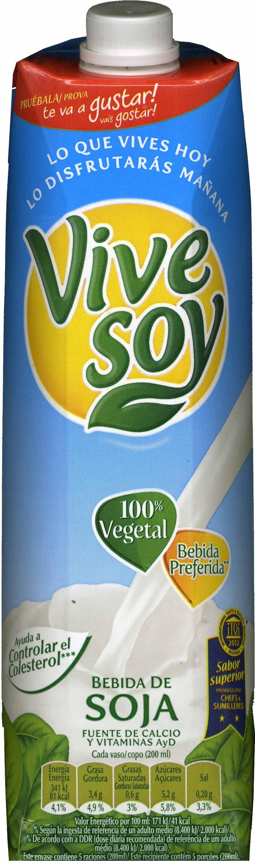 Bebida de soja Natural - Producto