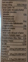 Classic Soya drink - Nutrition facts