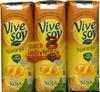 """Bebida de zumo y soja """"ViveSoy"""" Naranja. Pack de 3 - Producto"""