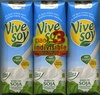 "Bebida de soja ""ViveSoy"" Natural. Pack de 3 - Product"