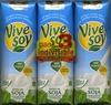"""Bebida de soja """"ViveSoy"""" Natural. Pack de 3 - Producto"""