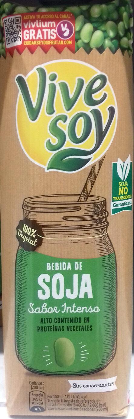 Bebida de soja sabor intenso alto contenido proteínas vegetales - Product - es