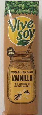 Bebida de soja sabor vainilla alto contenido - Producto - es