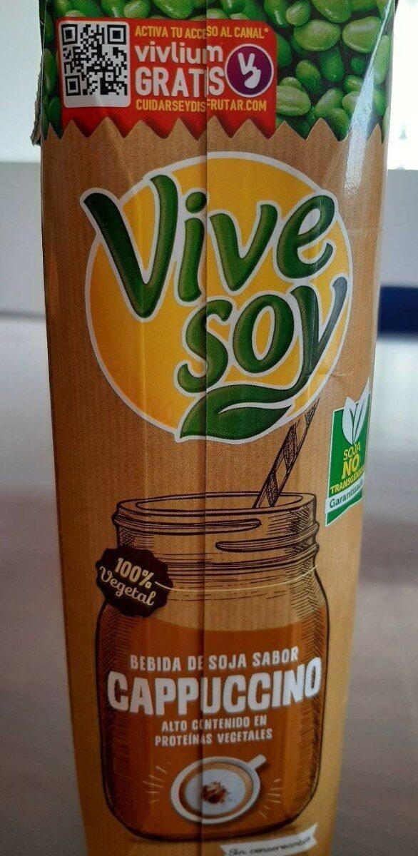 Vive Soy Cappuccino - Producto - es