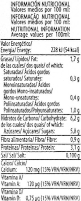 Vive Soy Cappuccino - Nutrition facts
