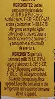 Batido sabor vainilla - Ingredients - es
