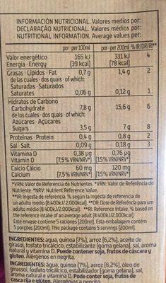 Bebida de Quinoa y Arroz - 3