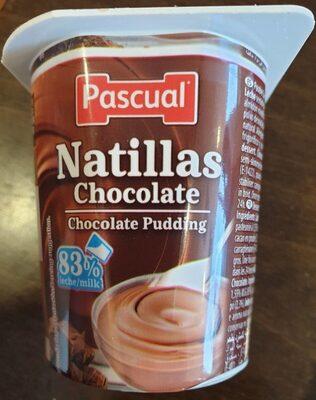 Natillas chocolate