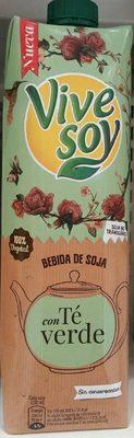 Bebida de Soja con Té Verde - Producto
