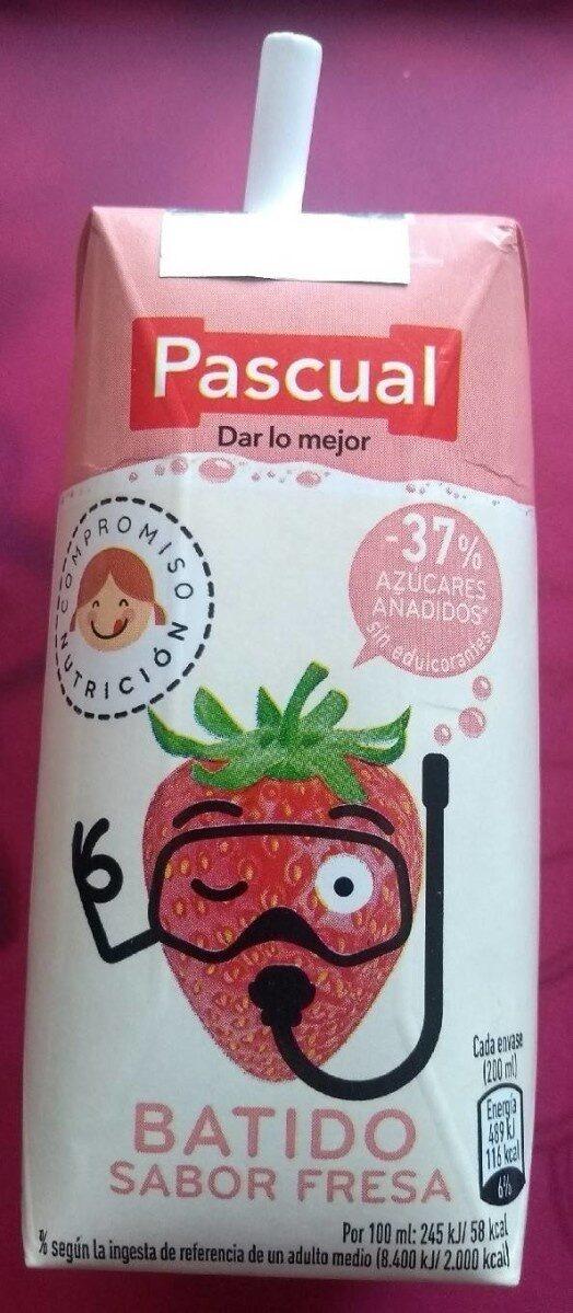 Batido sabor fresa - Produit - es