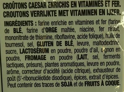 Salade Caesar - Ingredients - fr