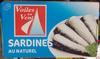 Sardines au naturel - Product