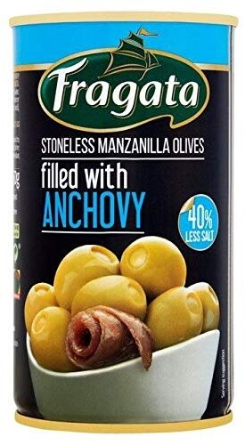 Manzanilla Olives with Anchovy - Produkt - de