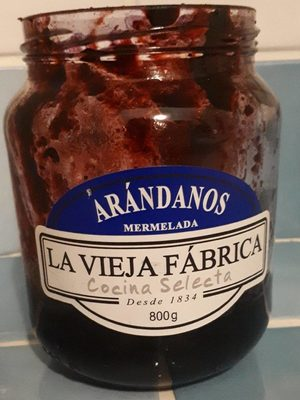 Mermelada Arandanos Vieja Fca. - Producto