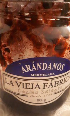 Mermelada Arandanos Vieja Fca. - Ingredientes