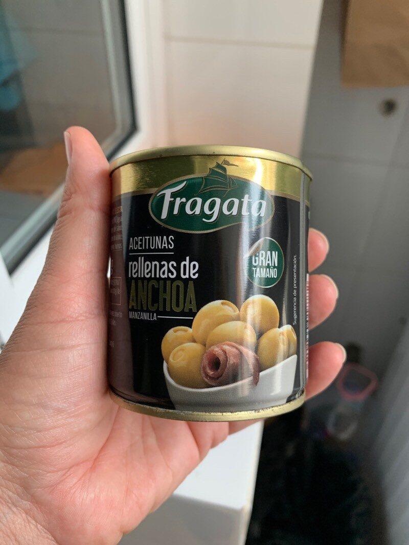 aceitunas rellenas de anchoa - Product - es