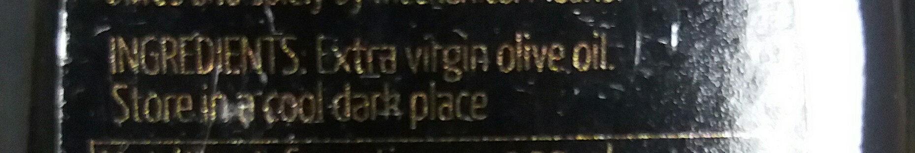 extra virgin olive oil - Thành phần - en