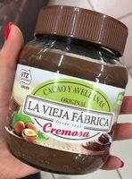 Crema de avellanas al cacao - Producto