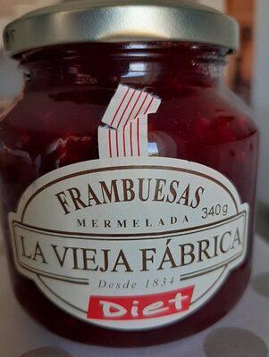 Mermelada frambuesas diet - Product - es