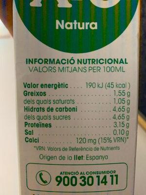 Ato natura - Ingredients
