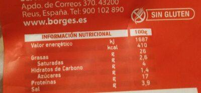 Semillas de girasol con cáscara tostadas aguasal - Informations nutritionnelles - es