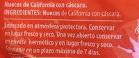 Nueces de California con Omega 3 bolsa 500 g - Ingrédients