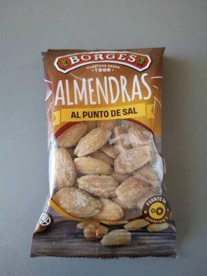 Almendras al punto de sal - Producto - es
