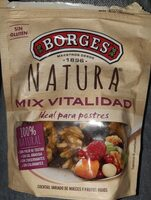 Natura cóctel de nueces y frutos rojos envase 120 g - Produit