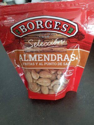 Almendras fritas - Produit