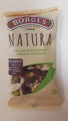 Natural frutos secos crudos y frutas desecadas - Produit