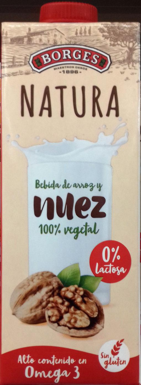 Natura bebida de nuez vegetal lactosa sin gluten - Product