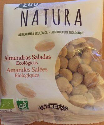 Eco Natura almendras saladas ecológicas bolsa 100 g - Producto