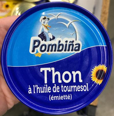 Thon à l'huile de tournesol (émietté) - Product - fr