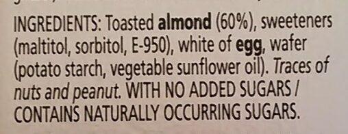 Turron Imperial Con Almendra - Ingredients