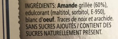 Turron Crema de Almendras - Ingrédients