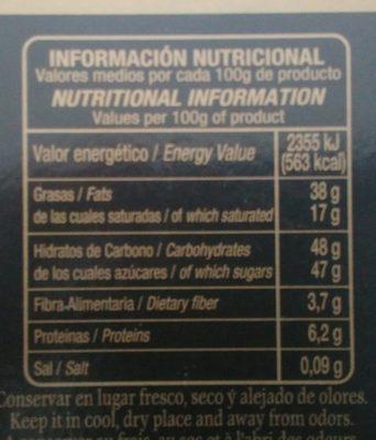 Turrón chocolate trufado - 4