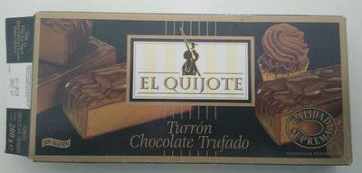 Turrón chocolate trufado - Produkt - fr