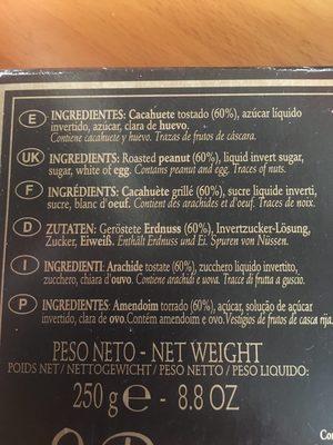 Turrón - Ingredients
