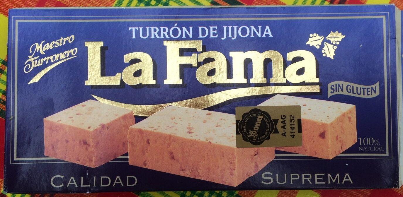 Turron de Jijona - Product - fr